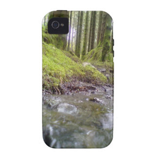Forest and water vibe iPhone 4 case