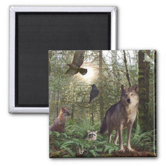Forest Animals Gifts Magnet