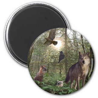 Forest Animals Gifts Refrigerator Magnet