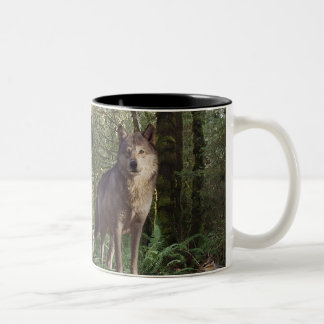 Forest Animals Gifts Two-Tone Coffee Mug
