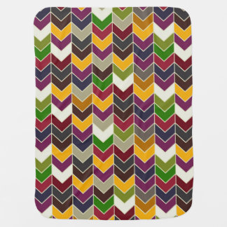 forest arrows baby blanket