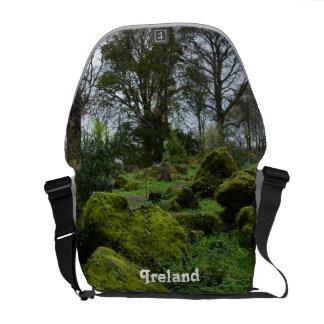 Forest at Blarney Castle Courier Bag