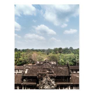 Forest behind Angkor Wat Temple, Siem Reap Postcard
