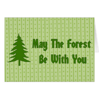 Forest Blessing Greeting Card