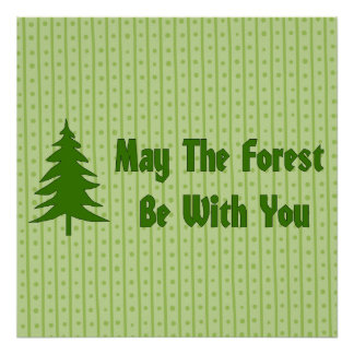 Forest Blessing Poster