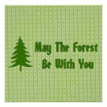 Forest Blessing Posters