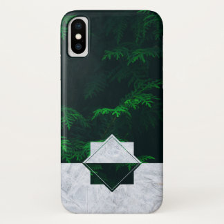 Forest Blizzard iPhone X Case