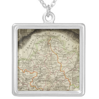 Forest Boundaries Silver Plated Necklace
