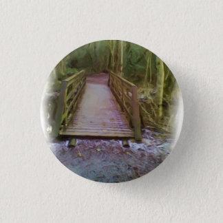Forest Bridge 3 Cm Round Badge