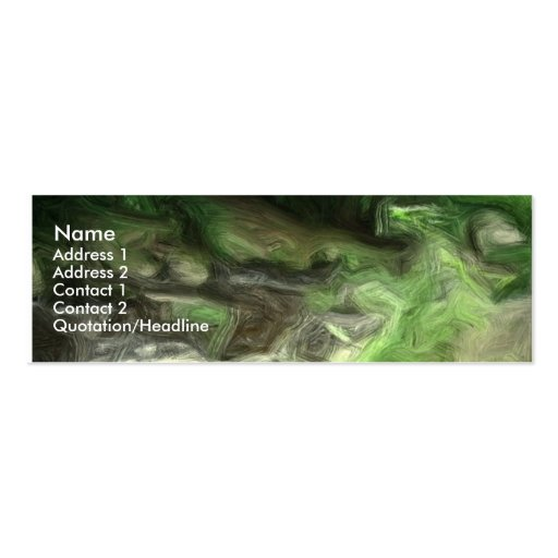 forest brook 2 business card template