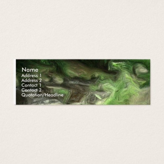 forest brook 2 mini business card