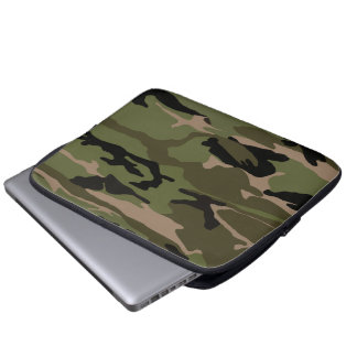 Forest Camo Computer Sleeve