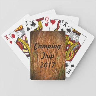 Forest Camping Playing Cards