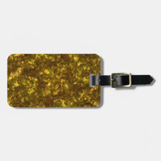Forest Canopy Saturn Luggage Tag