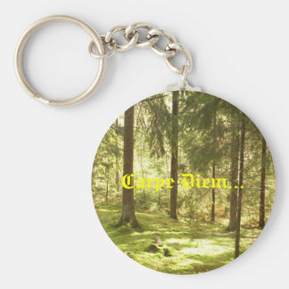 Forest - Carpe Diem Key Ring