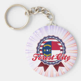 Forest City, NC Key Chain