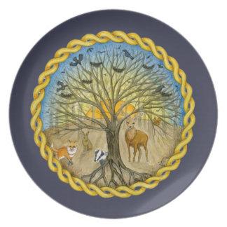 Forest Dinner Plates