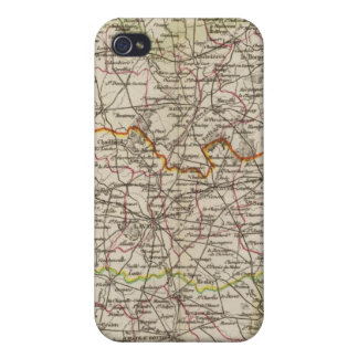 Forest, district boundaries iPhone 4/4S cases