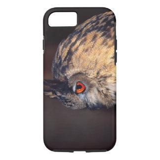 Forest Eagle Owl, Bubo bubo, Native to Eurasia iPhone 8/7 Case