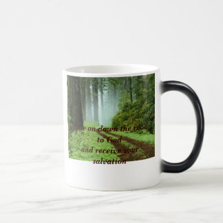 Forest Ease on down the road to Godand receive Mugs