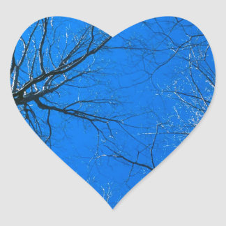 Forest East Deciduous Tennessee Heart Sticker
