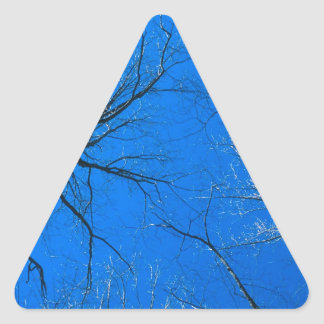 Forest East Deciduous Tennessee Triangle Sticker