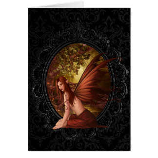 Forest Fae Card
