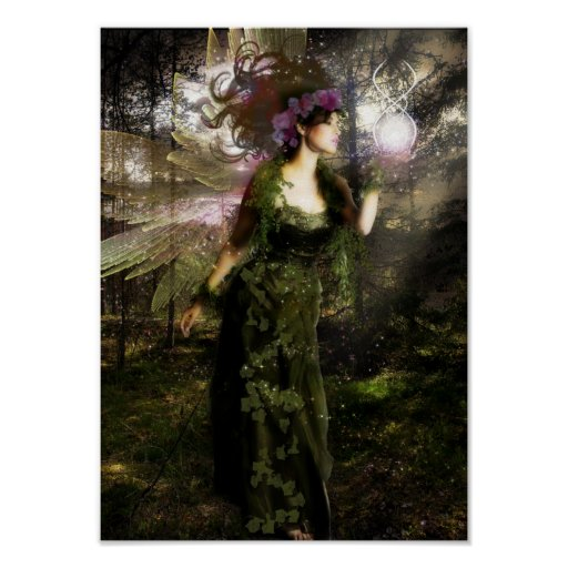 Forest Faerie Print