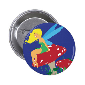 Forest Fairy Button