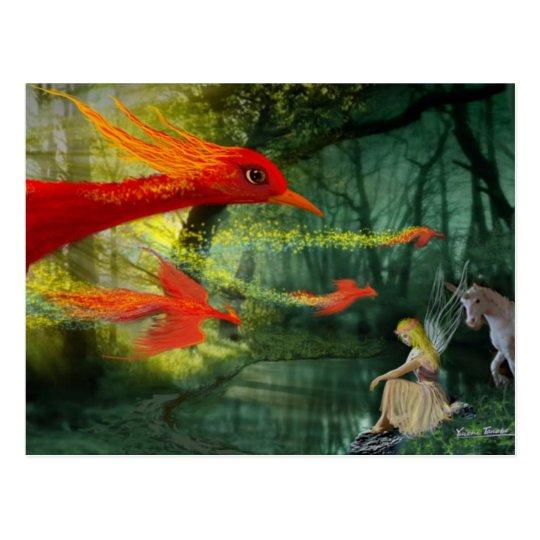 Forest Fantasy 1 Postcard