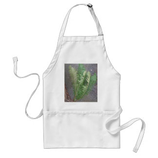 Forest Fern Over Water Adult Apron