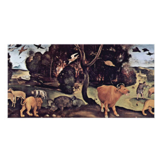 Forest Fire By Piero Di Cosimo (Best Quality) Photo Card