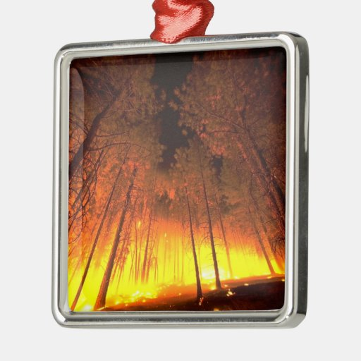 Forest Fire Ornament