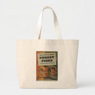 Forest Fires World War 2 Tote Bag