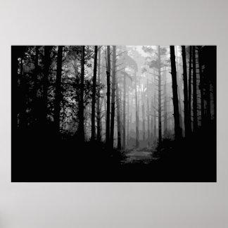 Forest fog 2 poster