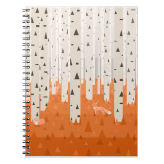 Forest Foxes Notebook
