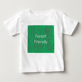 Forest friendly jersey T-shirt