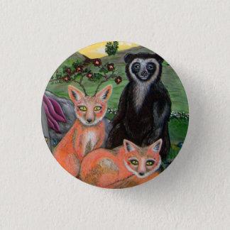 Forest Friends 3 Cm Round Badge