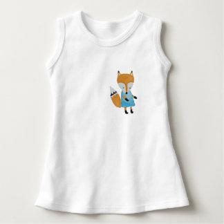 Forest Friends Adorable little Woodland Fox Dress