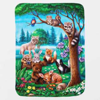 Forest Friends Blanket