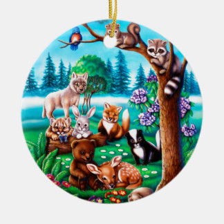 Forest Friends Christmas Ornament