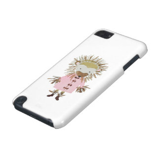 Forest Friends Cute Hand Painted Hedgehog iPod Touch 5G Case