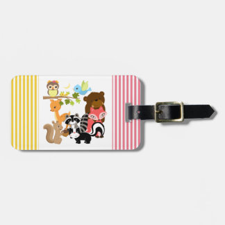 Forest Friends Luggage Tag