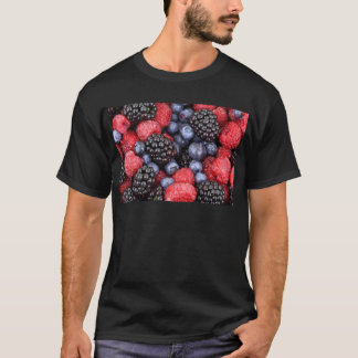 Forest Fruit Background T-Shirt