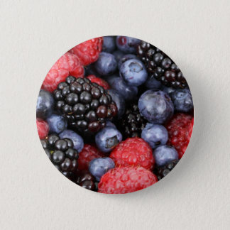 Forest Fruits 6 Cm Round Badge