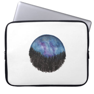 Forest Galaxy Laptop Sleeve