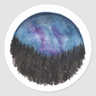 Forest Galaxy Stickers