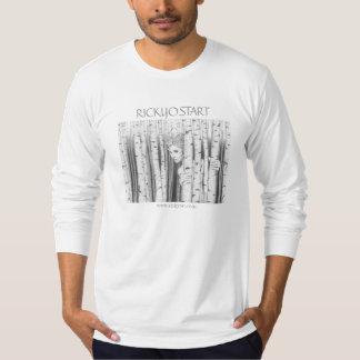 Forest Girl Men's long sleeved shirt White large