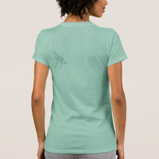 Forest girl t-shirt women's large abstract art
