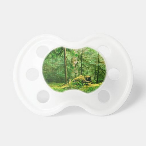 Forest Gray Wolf River Trail Olympic Pacifier